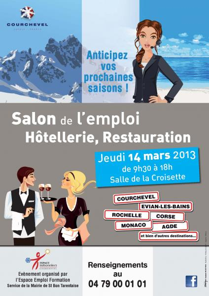 Salon de l 39 emploi h tellerie restauration courchevel 73 for Salon hotellerie restauration